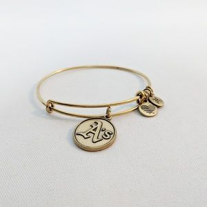 Alex and Ani Gold Oakland A's Charm Bracelet